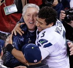 The second indication of the 2015 hall of shame.   Russell Wilson and Pete Carroll  For making the worst super bowl call in history