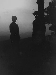 Post scary/eerie/creepy (but not gory) photos. Ghosts, freaky old-timey photos, creepy places etc. Creepy Halloween, Holidays Halloween, Halloween Lawn, Happy Halloween, Halloween Cut Outs, Scary Halloween Decorations, Spooky Scary, Halloween Halloween, Halloween Costumes