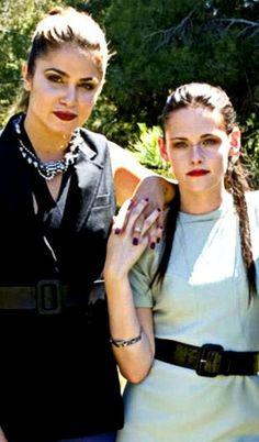 Kristen Stewart and Nikki Reed, Teen Vogue, 2008