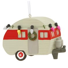 Camper With Lights Ornament $7.99
