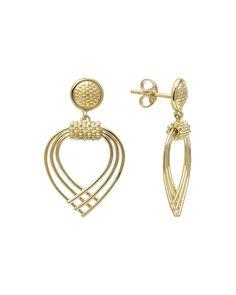 LAGOS 18k Caviar Teardrop Earrings, Women's, GOLD