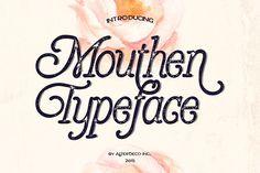 Mouthen Typeface - Serif - 1