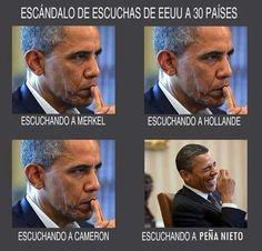Obama y el escandalo de espionaje