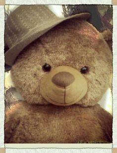 My lovely teddy bear