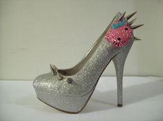 Hello Kitty Spike Heels