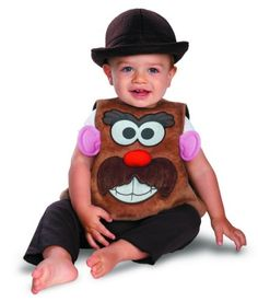 Disguise Costumes Hasbro Mr Potato Head Vintage Infant, Brown/White, 12-18 Months