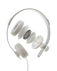 MOON | headphones by julius bucelis, via Behance