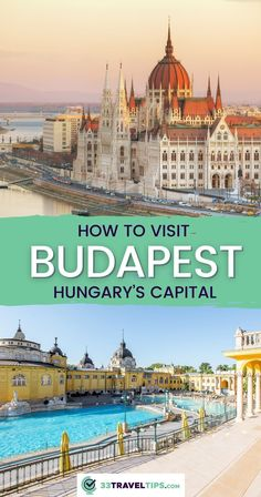 The Hungarian capital in the heart of Europe will enchant you with its diversity. The following 33 Budapest travel tips will help make your visit unforgettable. | Travel to Budapest | Budapest Hungary tips | Budapest travel guide | Visit Budapest Hungary Visit Budapest, Budapest Hungary, Road Trip Europe, Europe Travel Guide, Budapest Travel Guide, Buda Castle, Travel Through Europe, Heart Of Europe, European Travel