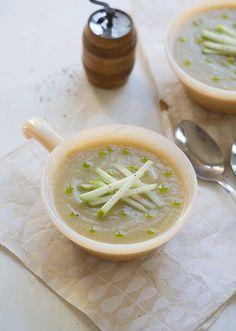 Sunchoke Apple Soup