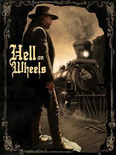 'Hell On Wheels' Painting