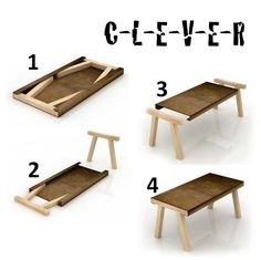 Probably 11 Pieces Of Wood? 5 For The Table And 6 For The Legs? Make It  Small And Itu0026 A Laptop/monitor Stand.