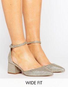 Туфли на каблуке для широкой стопы с острым носом ASOS STARLING