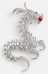 Natasha Couture Dragon Brooch