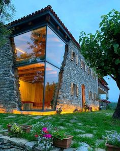 The dream house in nature 😍 Fishte, Lezhe, Albania. Photos by Best Honeymoon Locations, Design Scandinavian, Wanderlust Hotel, Design Exterior, Interior Design, House In Nature, Design Apartment, Mansions Homes, Best Places To Travel