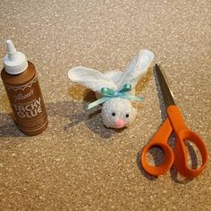 BooBoo Bunny & Poem -- Easter MOPS craft? - I didn't even think about this being an Easter craft!