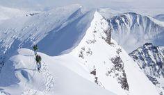Kebnekaise, Swedens highest mountain, 2,106 m (6,909 ft)