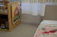 Amelie's Montessori inspired bedroom
