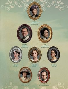 Upstairs - Downton Abbey