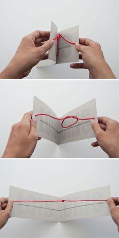 Inventive Wedding Invitation