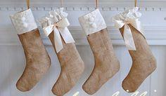 6 ideetjes om zelf kerstsokken te maken