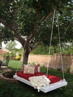 Hängende Bett Ideen Sommer HausDekoIdee