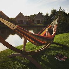 Elegant #hammock #hängematte #urlaub #holland #