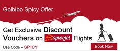 Goibibo Spicy Offer  FREE Rs.2500/- Discount Voucher on SpiceJet Flights Book now http://www.goibibo.com/offers/spice/  #Goibibo #FlightBookingOffers