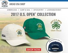 Cant make it to @Erinhillsgolf? Visit aheadshopusa.com to get a great hat commemorating this years #USOpen. #aheadusa #ThisisMajor #linkinbio