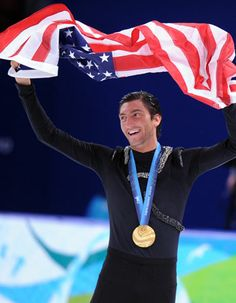 evan lysacek. men shouldn't look this good in sparkles.