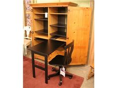 Shop for Shop Anne's Attic Convertible Micro Office with shelving and single file drawer, Chair not included, 106AT000015, and other Living Room Chests and Dressers at High Country Furniture & Design in Waynesville, NC - North Carolina.