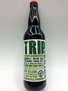 Cerveja Trip XVI, estilo Saison / Farmhouse, produzida por New Belgium Brewing…