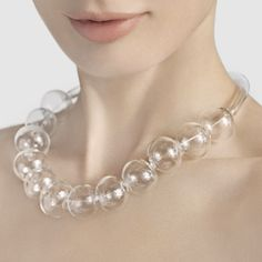 $120.00 Glass Bubble Necklace