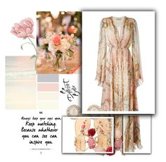 """Outfit"" by angelxalice ❤ liked on Polyvore featuring Etro, Lilly Pulitzer, Oscar de la Renta, Kate Spade, Summer, boho, ootd, gypsy and neutral"