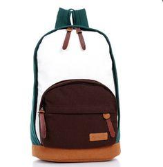 Korean Fashion Leisure Bag Canvas Backpack Student Bookbag Travel Bag C0059 | eBay