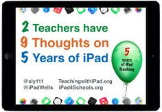 Reflection on 5 years with iPad