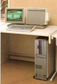 Boroughs Corp. B22 Computer. c1982.
