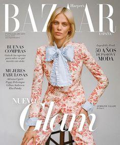 Aymeline Valade Covers Harper's Bazaar Spain November 2015