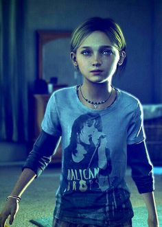 Sarah - This girl. this game. my feels. - The Last of Us Last Of Us, Joel And Ellie, Edge Of The Universe, Final Fantasy Vii, Life Is Strange, Great Videos, I Am Game, Resident Evil, Game Character