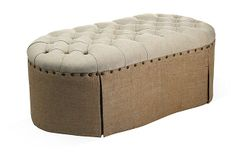 Fae Tufted Ottoman on OneKingsLane.com Upholster Table