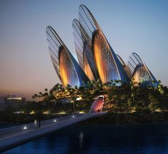 Zayed National Museum in Abu Dhabi by Norman Foster