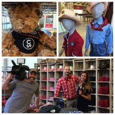 Great to have @cameraguynick, @jillbelland in @CS_Mercantile this morning for @calgarystampede