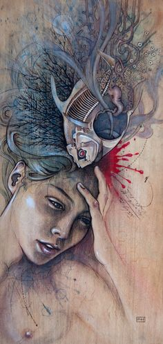 #ART #illustrations #sketches - Fay Helfer*