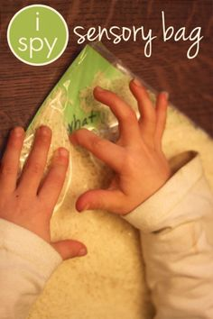 I Spy Sensory Bag for Sight Words & Letters. Looks like it would be easy to switch out the sight words. Sight Word Activities, Reading Activities, Literacy Activities, Teaching Reading, Preschool Activities, Literacy Bags, Shape Activities, Preschool Centers, Toddler Preschool