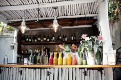 Bar at Hartwood Restaurant in Tulum | photography by http://www.brookelynphotography.com/