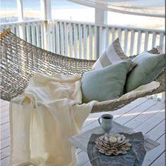 Hampton beach house hammock.. Yess