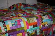 SALE Quilt Handmade Colorful CRAYON BOX by sherimusum on Etsy, $200.00