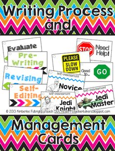 iTeach 5th: Writing Process & Management Cards