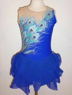 Beautiful Figure Ice Skating Dress Custom Made to Fit | eBay