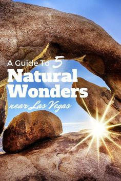 Looking for a unique day trip from Las Vegas? Why not explore the wealth of natural wonders close by?! http://wanderlusters.com/natural-wonders-near-las-vegas/ #GeorgeTupak
