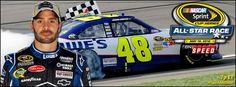 Jimmie Johnson--yes, I am a NASCAR geek. ;-)